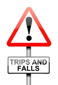 trip and fall injury claims, Los Angeles